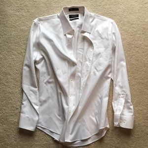 Nordstrom men's white dress shirt